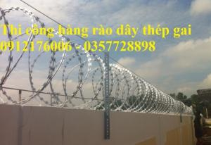 Dây thép gai hình dao giá thành tốt tại Quảng Ninh