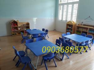 Cung cấp bàn ghế nhựa trẻ em cho trường mầm non, lớp mẫu giáo, gia đình