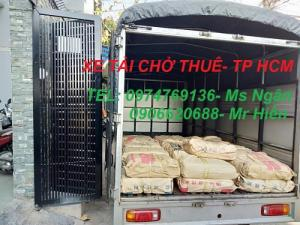 Xe tải chở hàng thuê Quận Bình Tân