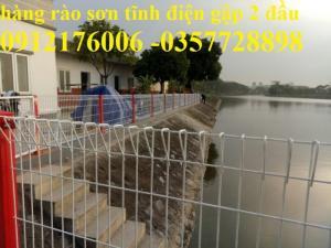 Hàng rào lưới thép mạ kẽm,hàng rào sơn tĩnh điện,hàng rào thép
