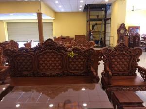 Bộ bàn ghế louis hoàn gia mẫu mới VIP – BBG345