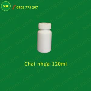Lọ nhựa đụng hóa chất-phân bón, thuốc bảo vệ thực vật 125cc