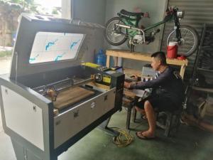 Thu mua máy laser cũ 6040