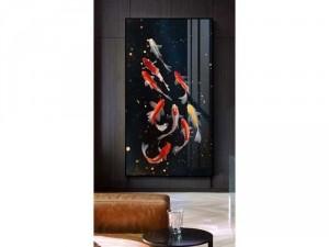 tranh vải Canvas 1 tấm kthuoc 60x120