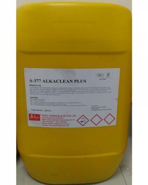 Tẩy rửa dầu nhớt máy công nghiệp trong nhà xưởng Apex a377