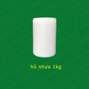 Hũ nhựa đựng phân bón 500gr Ngọc Minh