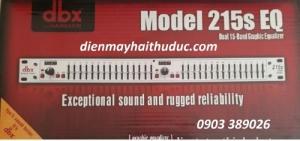 Lọc nhạc Equalizer DBX 215S hàng tầm trung, giá đẹp
