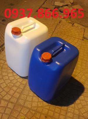 can nhựa 30L chuyên đựng chất lỏng, hóa chất
