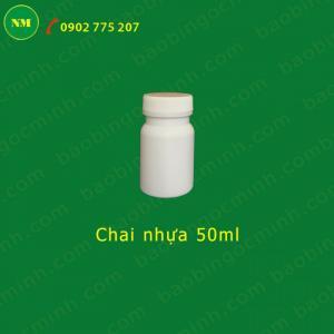 Lọ nhựa đựng nông dược 50ml Ngọc Minh