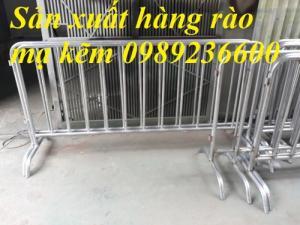 Chuyên sản xuất khung hàng rào di động 1x2m , 1,2x2m hàng có sẵn tại Hà Nội