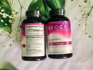 Chai Collagen C + biotin dạng viên xách tay Mỹ