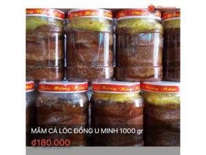 Mắm cá lóc đồng chính gốc U Minh