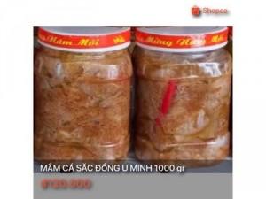 Mắm cá sặc đồng U Minh 1000 gr