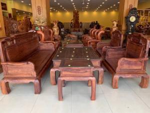 Bộ Bàn Ghế Quốc Sắc Thiên Hương Chân 12, 06 Món Siêu VIP | Hàng Tuyển