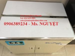Máy ĐAI Niềng thùng bán tự động D56 Strapack Nhật Bản
