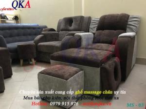 Ghế massage chân - mẫu ghế foot matxa