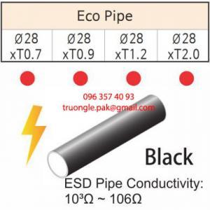 Ống Thép Bọc Nhựa ESD - Ống thép bọc nhựa chống nhiệt và tĩnh điện ECO-ESD và Dcoated-ESD