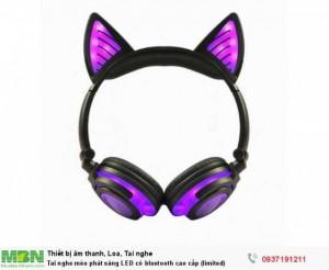 Tai nghe mèo phát sáng LED có bluetooth cao cấp (limited)