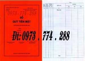Sổ quỹ tiền mặt - Mẫu Thành Ủy Thành Phố Hồ Chí Minh