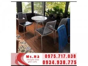 bàn ghế cafe sắt giá rẻ