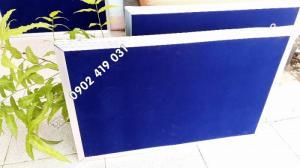 Bảng Ghim Nỉ 40 x 60cm Khung Bo Viền Nhôm
