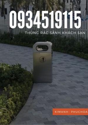 Thùng rác sảnh khách sạn - Thùng rác sảnh thang máy - Thùng rác trang trí