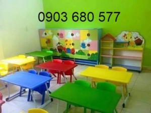 Chuyên cung cấp bàn ghế nhựa mầm non giá rẻ, an toàn, chất lượng cho trẻ nhỏ