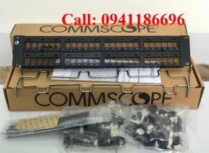 Patch Panel 48 Port COMMSCOPE 760237041 | 9-1375055-2 | 9-1375191-2