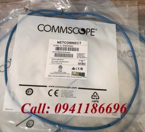 Dây nhảy patch cord 1.2m Cat6 Blue (NPC06UVDB-BL004F) commscope