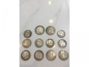 đồng su bạc cổ xưa 1926-1452-1519