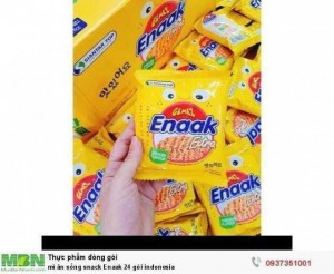 Mì ăn sống snack Enaak 24 gói indonesia