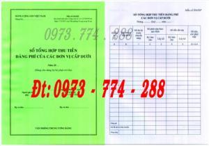 Bán sổ tổng hợp thu tiền Đảng phí