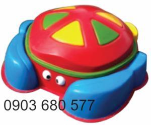 Cung cấp đồ chơi bồn nghịch cát - nước cho trẻ nhỏ mầm non