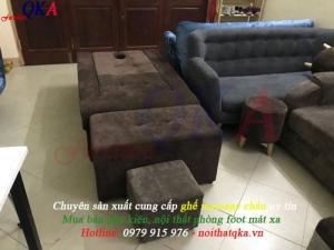 Ghế làm foot mát xa - mẫu ghế massage chân giá rẻ