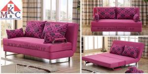 Sofa giường 2in1 di động rộng 1,2m