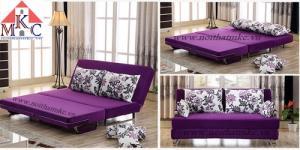 Sofa giường 2in1 di động rộng 1,5m thông minh