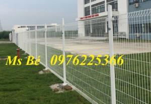 Chuyên sản xuất và lắp đặt hàng rào lưới thép mạ kẽm sơn tĩnh điện
