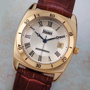 Đồng hồ quartz Nam dây da chính hãng .
