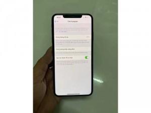 Iphone Xs Max 64gb Lock trắng đẹp còn bh lâu