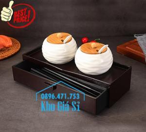 Hộp đựng đũa muỗng nhà hàng kiểu mới nhất của Nhật Bản - Bình Thạnh