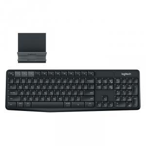 Keyboard Bluetooth Logitech K375S kèm Đế để điện thoại, máy tính bảng chính hãng