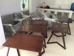 Thanh lý bộ bàn ghế sofa cafe gỗ giá rẻ tphcm