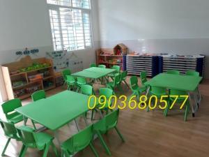 Chuyên cung cấp bàn và ghế nhựa trẻ em cho trường mầm non, lớp mẫu giáo, nhà trẻ, giá đình