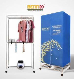 Máy sấy quần áo Bennix BN-0186  hàng chính hãng bảo hành 18 tháng