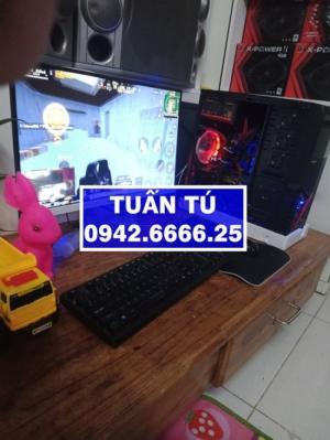 Đầu năm bán máy tính cá nhân với giá yêu thương hàng chính hãng cấu hình cao H81 GIGABYTE, i3-4130, R8G, Màn 27 LED, GTX1050Ti.