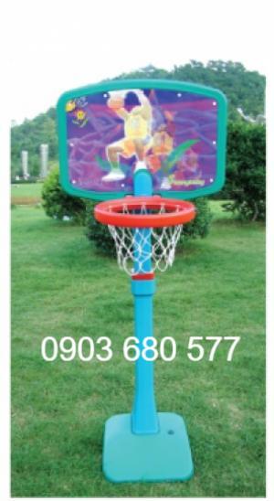 Đồ chơi trụ bóng rổ vận động cho trẻ nhỏ mẫu giáo, mầm non