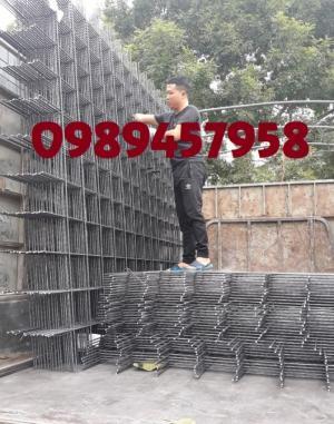 Sản xuất lưới thép đổ bê tông phi 5, phi 6 ô 150x150, 200x200 mới 100%