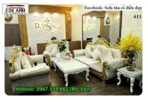 Xưởng sản xuất sofa tân cổ điển siêu đẹp giá rẻ siêu sốc giao hàng toàn quốc