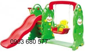 Cung cấp sỉ và lẻ đồ chơi cầu trượt - xích đu dành cho trẻ em mầm non