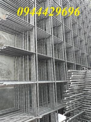 Lưới thép hàn đổ bê tông từ phi 6